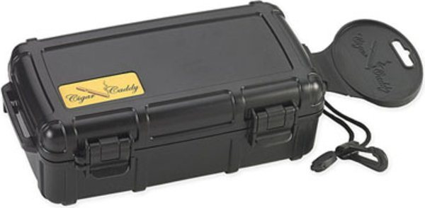 Cigar Caddy travel humidor 10 cigars