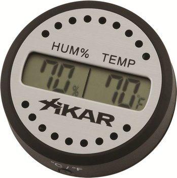 Xikar digital hygrometer round photo 100