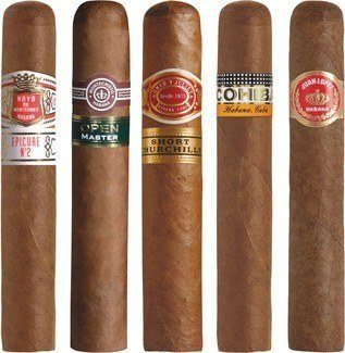 Zigarren Probiersets / Sampler Zigarrensampler Robusto