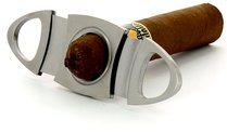 Adorini cigar cutter oval high-grade steel photo 100