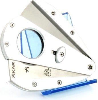 Xikar 1 double blade cutter - Xi1 silver