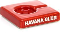 Havana Club Solito Ashtray Red