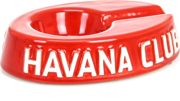 Havana Club Egoista Ashtray Red