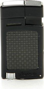 Xikar Forte Lighter Black Carbon Fiber