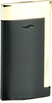 S.T. Dupont Slim 7 Lighter Black/Gold