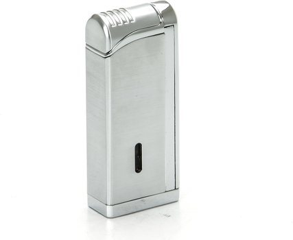 Tycoon Movie Jet III Cigar Lighter with Multi Punch Chrome
