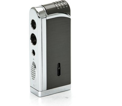 Tycoon Movie Jet III Cigar Lighter with Multi Punch Gunmetal
