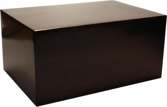 Humidor Bamboo Black Frosted 100