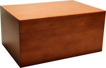 Humidor Bamboo Brown Frosted 100