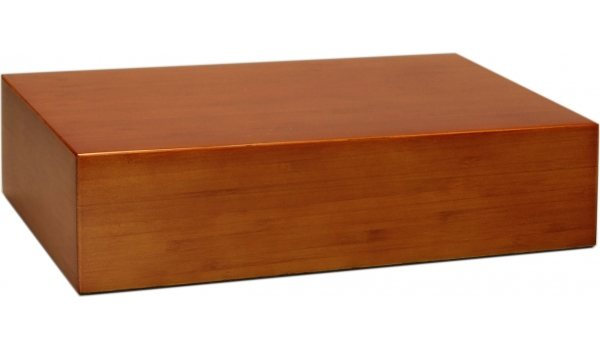 Humidor Bamboo Brown Frosted 20