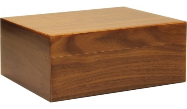 Humidor Walnut Frosted 35