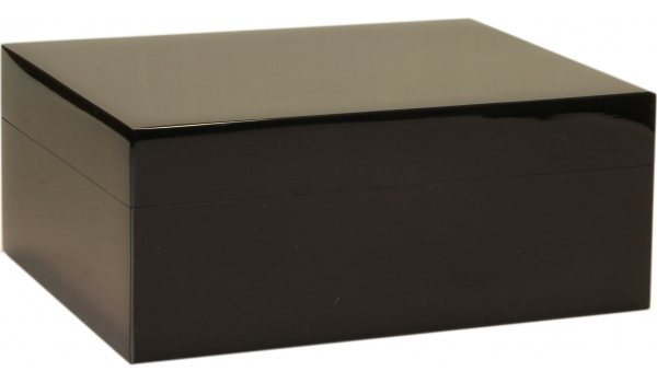 Guy Janot Humidor Black Piano Laquer 35