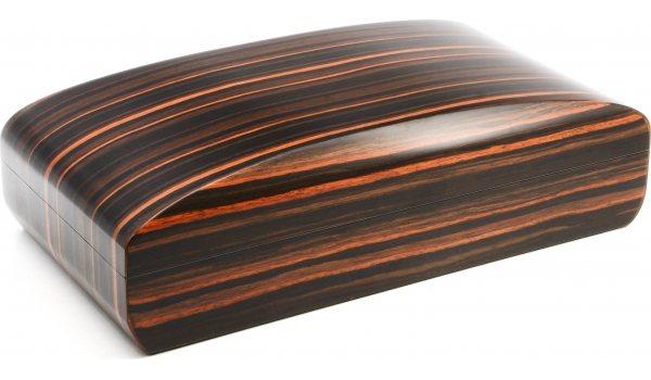 Pegasus Humidor Makassar matt convex 80 cigars
