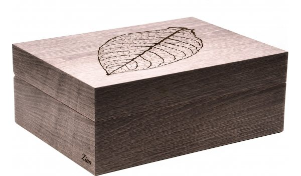 Zino Humidor Leaf Grey Oak
