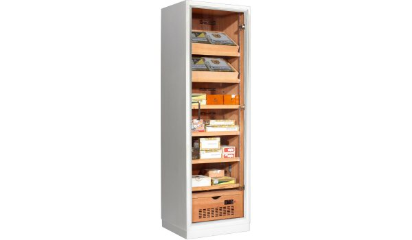 Ravenna 175 Deluxe Humidor Cabinet White