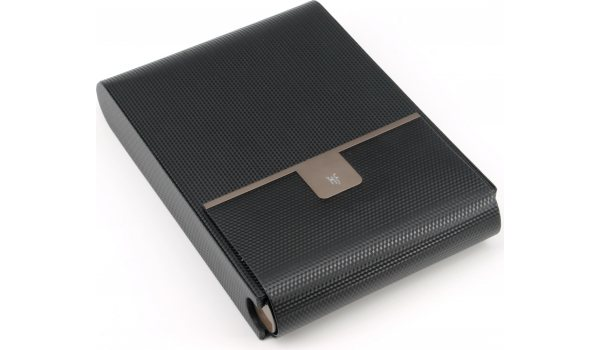 HF Barcelona B Travel 10 travel humidor black carbon