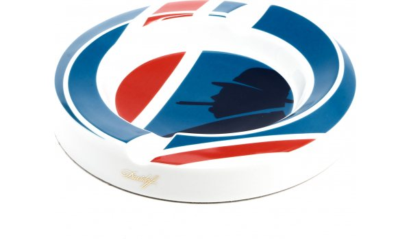 Davidoff WSC ashtray porcelain Union Jack