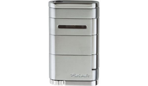 Xikar Allume Single Jet Lighter Steel