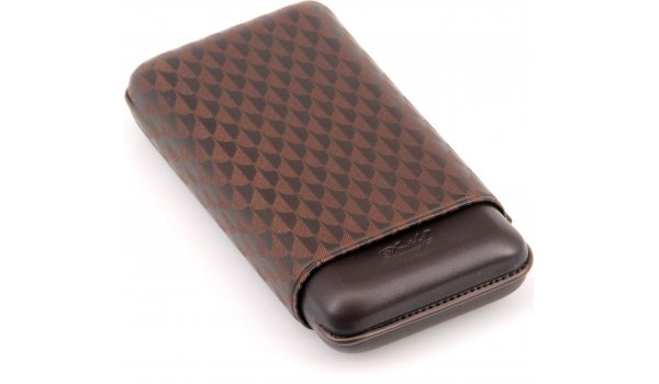 Davidoff cigar case XL-3 leather brown curing