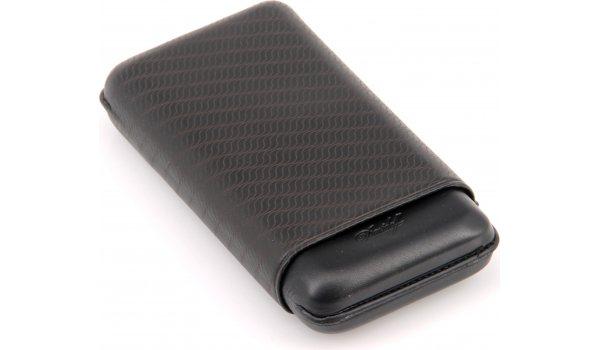 Davidoff cigar case XL-3 leather black enjoy