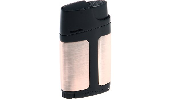Xikar double flame lighter Bronze/Black