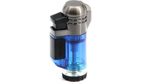 Xikar Tech Double Lighter Blue