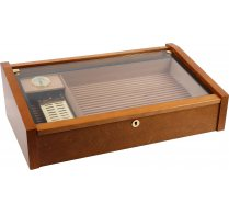 Vega (mahogany) - Deluxe glass top humidor photo 100
