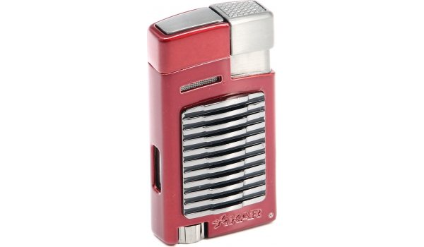 Xikar FORTE Lighter Single Jet-Flame with Punch Red
