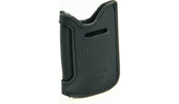 adorini Leather Case Black for S.T. Dupont Minijet