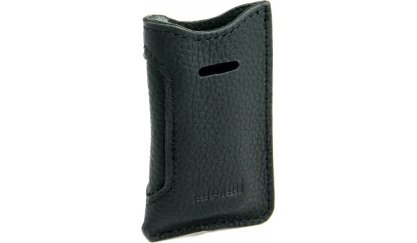 adorini Leather Case Black for S.T. Dupont Slim Lighters