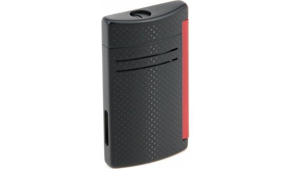 S.T. Dupont Maxijet 20160N - black matt / red