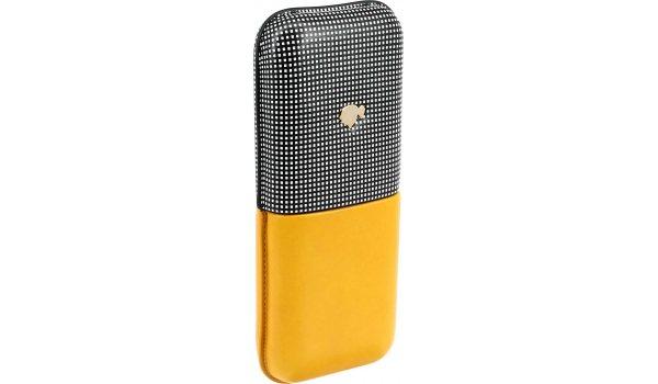 Cohiba Leather Case Classic Yellow