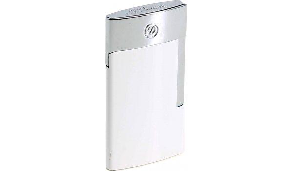 S.T. Dupont E-Slim Lighter White & Chrome