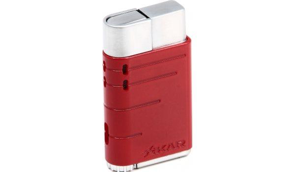 Xikar Linea Jet Lighter red