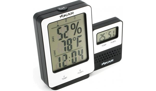 Xikar PuroTemp Digital Hygrometer Wireless Remote System