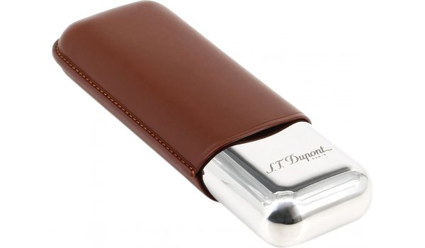 S.T. Dupont Double Cigar Case brown 183011