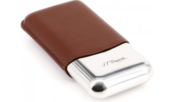 S.T. Dupont Triple Cigar Case brown 183021