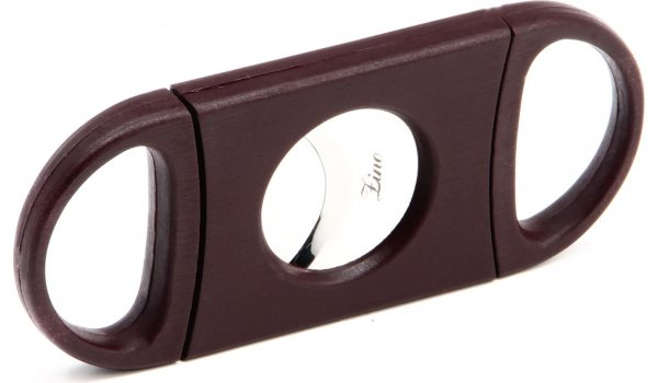 Zino Double Blade Cigar Cutter Red Plastic