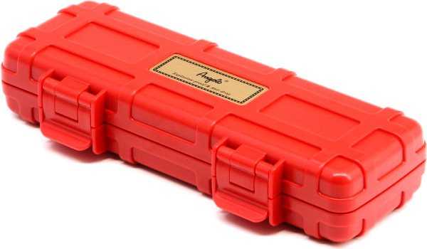 Angelo Double Cigar Case Red