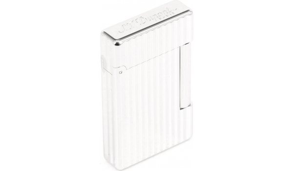 S. T. Dupont Lighter Initial Silver Bronze Striped