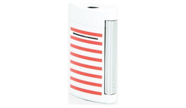 S.T. Dupont Minijet Lighter Stripes Navy/White/Red