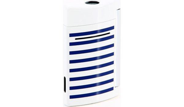 S.T. Dupont Minijet Lighter Navy blue stripes