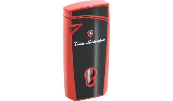 Lamborghini L Magione jet lighter black/red + leather case