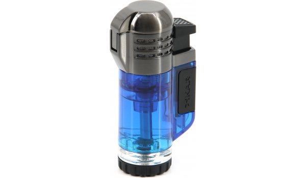 Xikar Tech Triple Jet-Flame Lighter Blue