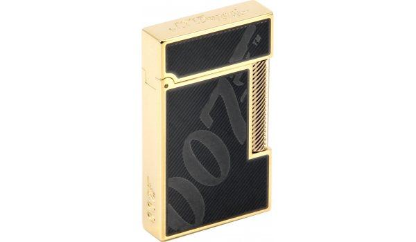 S.T. Dupont 007 James Bond Ligne 2 Lighter Black & Gold