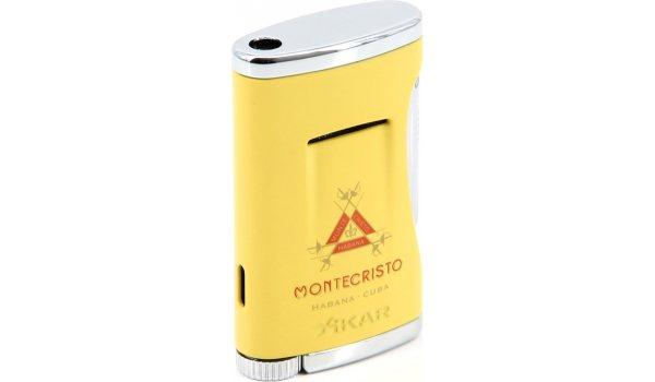 Xikar Montecristo Jet Lighter Yellow