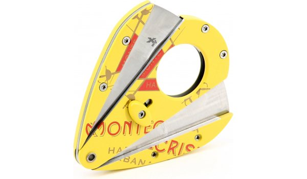 Xikar Montecristo Double Blade Cutter Xi1 Yellow