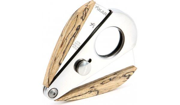 Xikar Xi3 Double Blade Cutter Spalted Tamarind Wood
