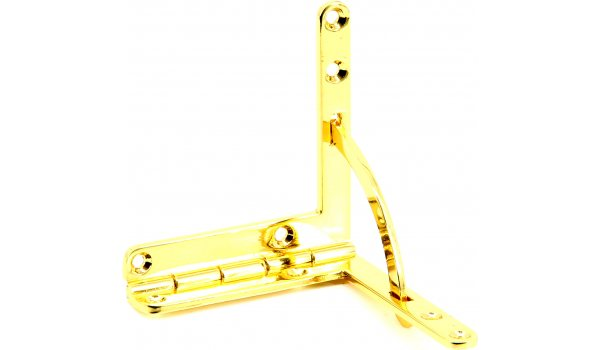 Gold-Plated Quadrant Hinge Large 60x56mm