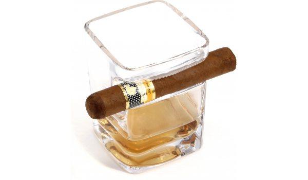 adorini Cigar Rum & Whisky Glass Tumbler